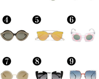 list of 10 best sunglasses 2017