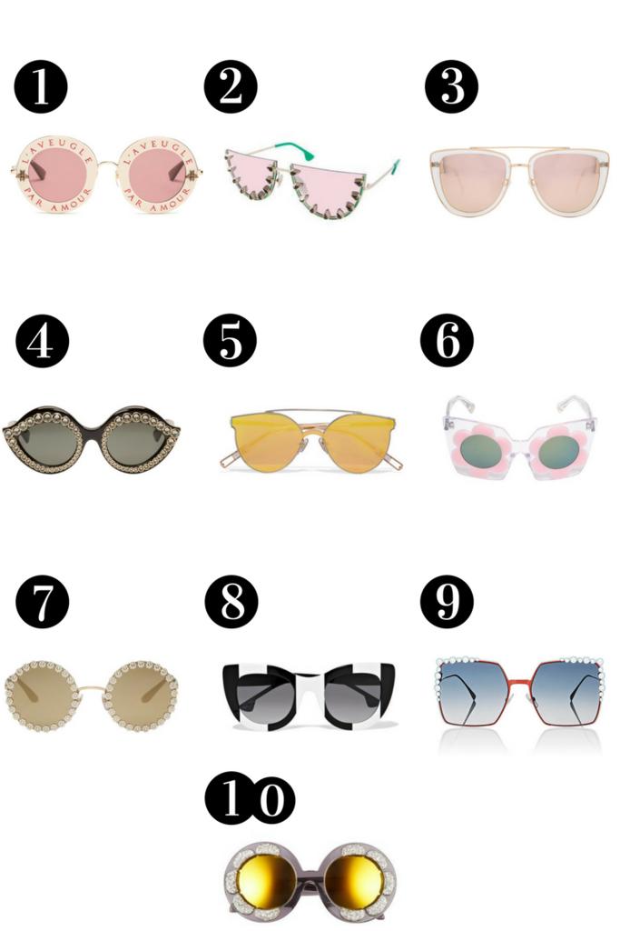 list of 10 best sunglasses 2017